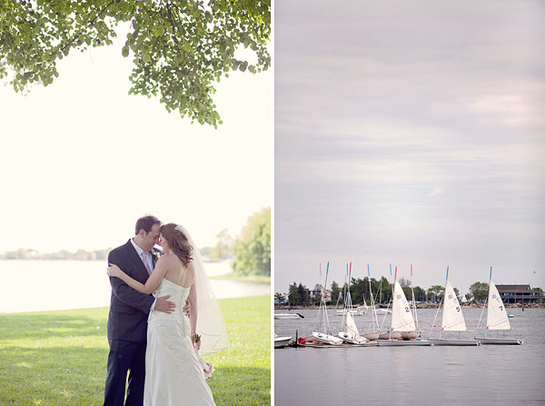 ocean sailboat, Inn at Longshore, Westport, CT Wedding Pictures Photos, Victoria Souza Photography, vintage, outdoor ceremony, water, ocean, Best CT Wedding Photographer