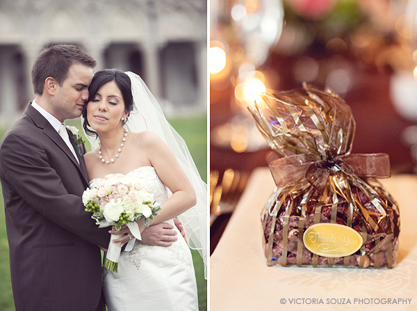 chocolate brown favors, outdoor, vintage, Society Room, Hartford, CT, Wedding Pictures Photos, Victoria Souza Photography, Best CT Wedding Photographer