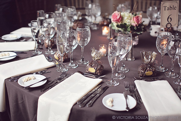 brown tablecloth, white napkins, outdoor, vintage, Society Room, Hartford, CT, Wedding Pictures Photos, Victoria Souza Photography, Best CT Wedding Photographer