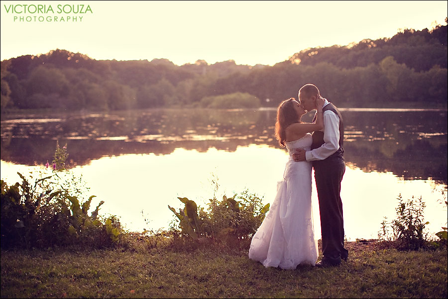 CT Wedding Photographer, Victoria Souza Photography, Red Bridge, Meriden, CT Trash the Dress Engagement Wedding Portrait Photos