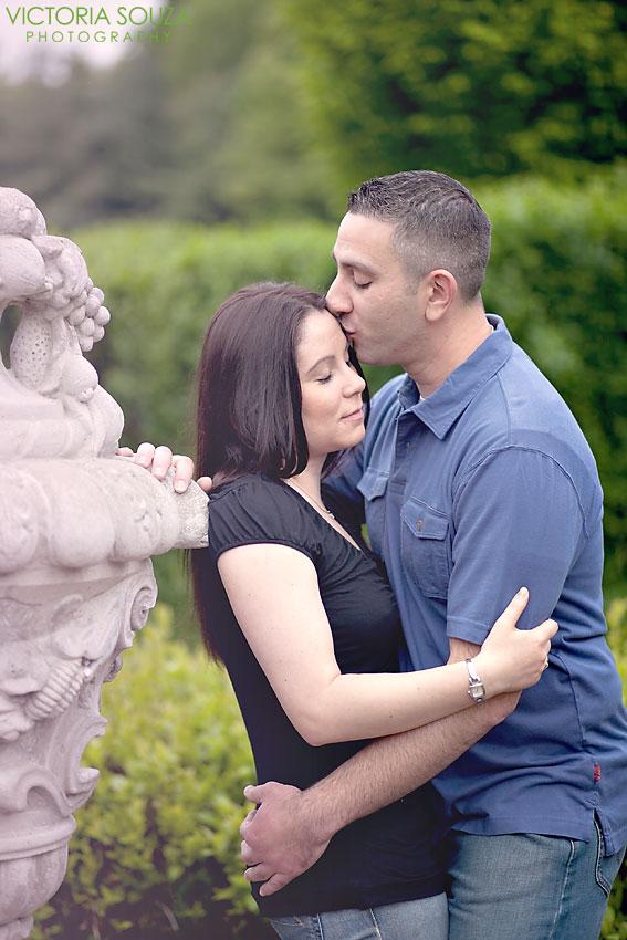 Wickham Park, Manchester, CT Wedding Engagement Pictures Photos, Victoria Souza Photography, vintage, open field, bridge, Best CT Wedding Photographer