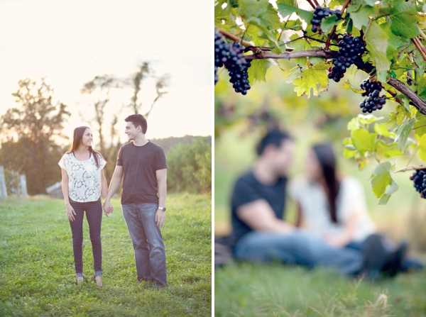 Gouveia Vineyards, Wallingford, CT, picnic, Wedding Engagement Pictures Photos, Victoria Souza Photography, Best CT Wedding Photographer