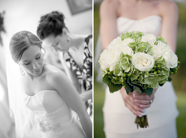 Modern Trousseau, White Green flowers bridal bouquet, Guilford Yacht Club, Guilford, CT Wedding Pictures Photos, Victoria Souza Photography, Best CT Wedding Photographer