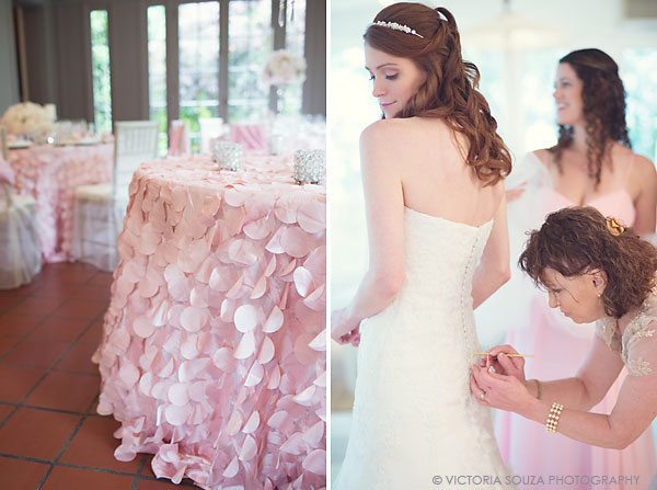 pink ruffle tablecloth, Lord Thompson Manor, Thompson, CT, elegant, luxury, Wedding Pictures Photos, Victoria Souza Photography, Best CT Wedding Photographer