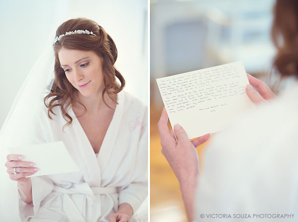 note from groom to bride, Lord Thompson Manor, Thompson, CT, elegant, luxury, Wedding Pictures Photos, Victoria Souza Photography, Best CT Wedding Photographer