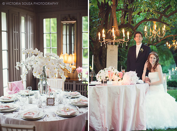 orchid tall centerpiece, vintage outdoor hanging chandelier, Lord Thompson Manor, Thompson, CT, elegant, luxury, Wedding Pictures Photos, Victoria Souza Photography, Best CT Wedding Photographer