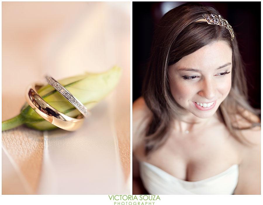 Indian Harbor Yacht Club, Morello, Greenwich, CT Wedding Pictures Photos, Victoria Souza Photography, bridal headband, wedding rings, Best CT Wedding Photographer