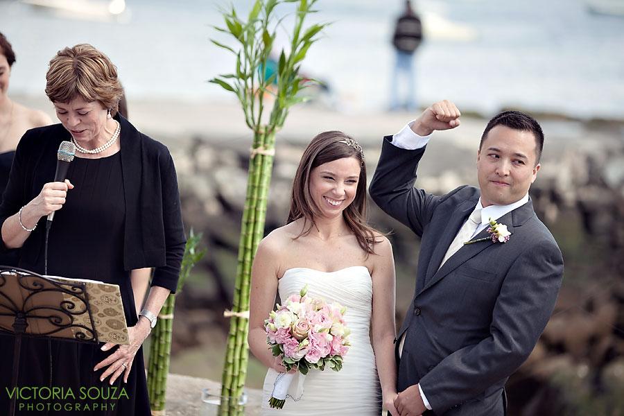 Indian Harbor Yacht Club, Morello, Greenwich, CT Wedding Pictures Photos, Victoria Souza Photography, wedding ceremony water, Best CT Wedding Photographer