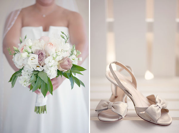 pink peonies, amnesia roses, bridal bouquet, kate spade wedding shoes, Cliff House Resort, Ogunquit, ME, Wedding Pictures Photos, Victoria Souza Photography, Best CT Wedding Photographer