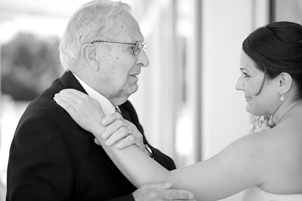 bride and grandfather, Cliff House Resort, Ogunquit, ME, Wedding Pictures Photos, Victoria Souza Photography, Best CT Wedding Photographer