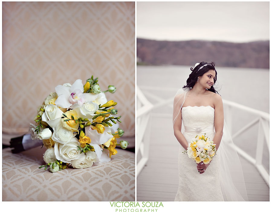 Candlewood Inn, Brookfield, CT Wedding Pictures Photos, Victoria Souza Photography, yellow flower bouquet, Best CT Wedding Photographer