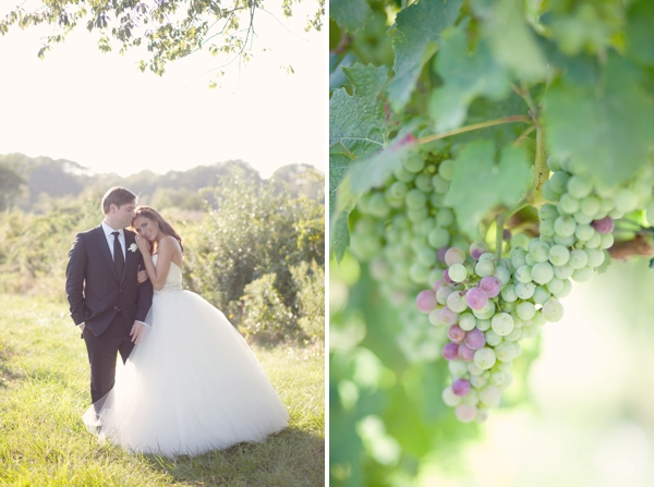 Lazaro wedding gown, Saltwater Farms Vineyard, Stonington, CT,  Wedding Pictures Photos, Victoria Souza Photography, Best CT Wedding Photographer