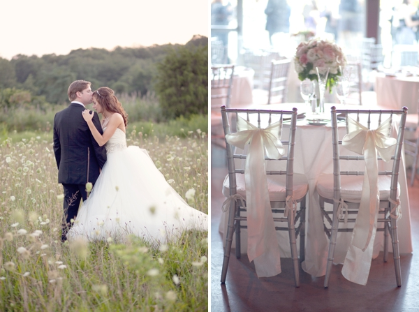 lazaro wedding gown, bride groom chairs, Saltwater Farms Vineyard, Stonington, CT,  Wedding Pictures Photos, Victoria Souza Photography, Best CT Wedding Photographer
