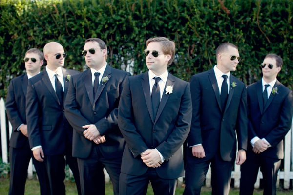 groomsmen, sunglasses, ray ban, Saltwater Farms Vineyard, Stonington, CT,  Wedding Pictures Photos, Victoria Souza Photography, Best CT Wedding Photographer