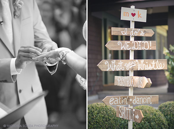 wooden handpainted sign wedding, Private Residence, Wilton, CT, Wedding Pictures Photos, Victoria Souza Photography, Best CT Wedding Photographer