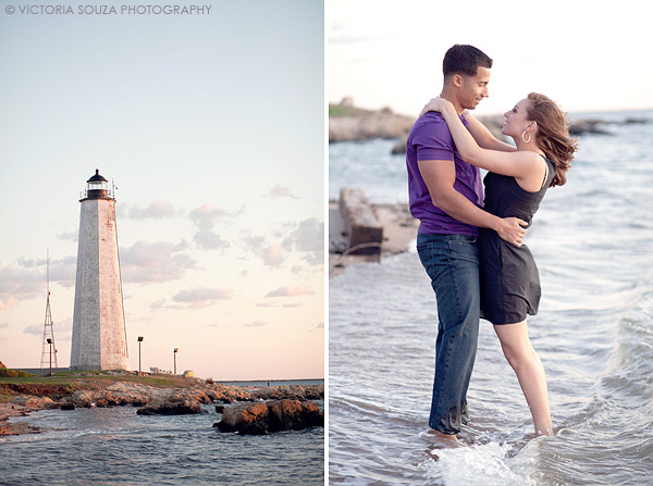 Lighthouse Park, Yale Architecture, Beach, New Haven, CT, Wedding Engagement Pictures Photos, Victoria Souza Photography, Best CT Wedding Photographer