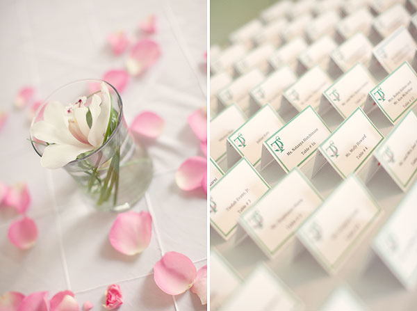 white orchid, green escort cards, Burr Homestead, Fairfield, CT Wedding Pictures Photos, Victoria Souza Photography, Best CT Wedding Photographer