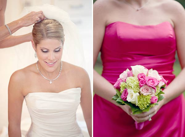 pink bridesmaids dress, pink white flowers, waterview, monroe, ct, Wedding Pictures Photos, Victoria Souza Photography, Best CT Wedding Photographer