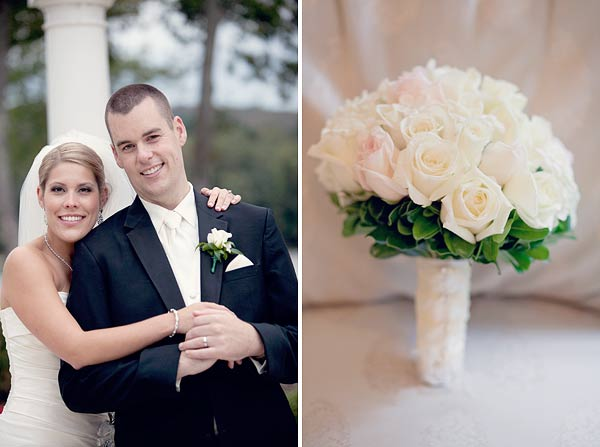 white pink bridal bouquet, roses, flowers, waterview, monroe, ct, Wedding Pictures Photos, Victoria Souza Photography, Best CT Wedding Photographer