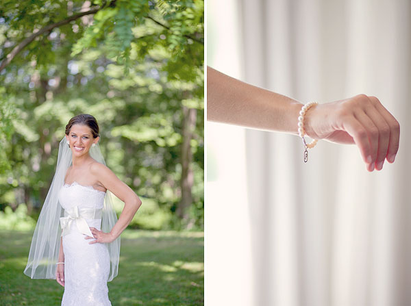 Jim Helm wedding gown, lace, pearl bracelet, Inn at Mystic, Mystic, CT, Wedding Pictures Photos, Victoria Souza Photography, Best CT Wedding Photographer